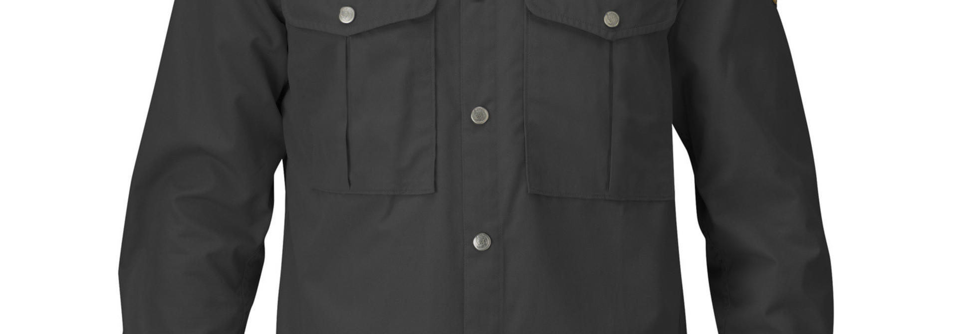 Fjällräven Greenland Shirt M Dark Grey