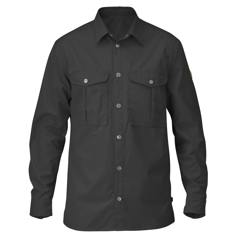 Fjällräven Greenland Shirt M Dark Grey-1