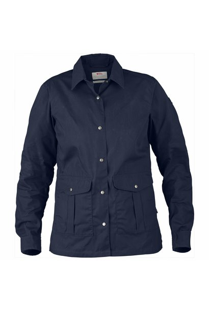 Fjällräven Greenland Shirt Jacket W Dark Navy