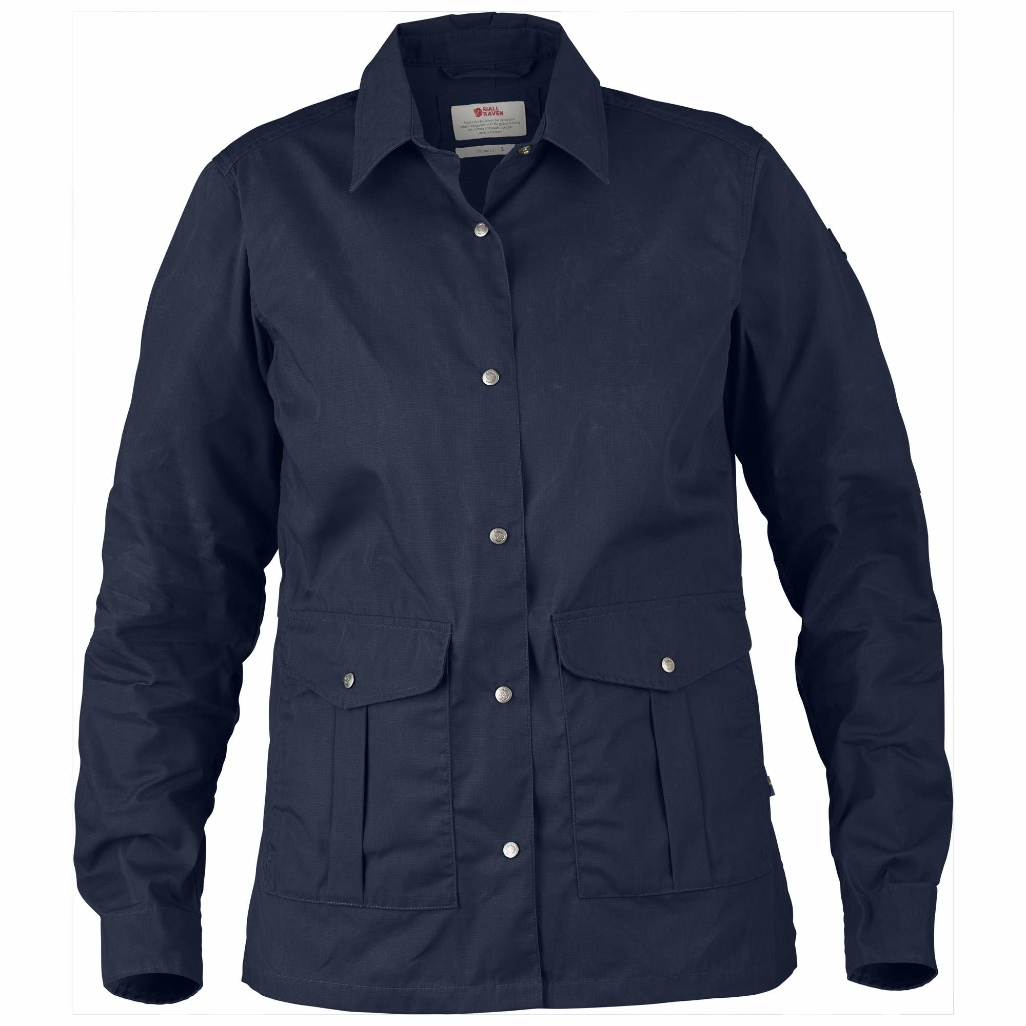 Fjällräven Greenland Shirt Jacket W Dark Navy-1