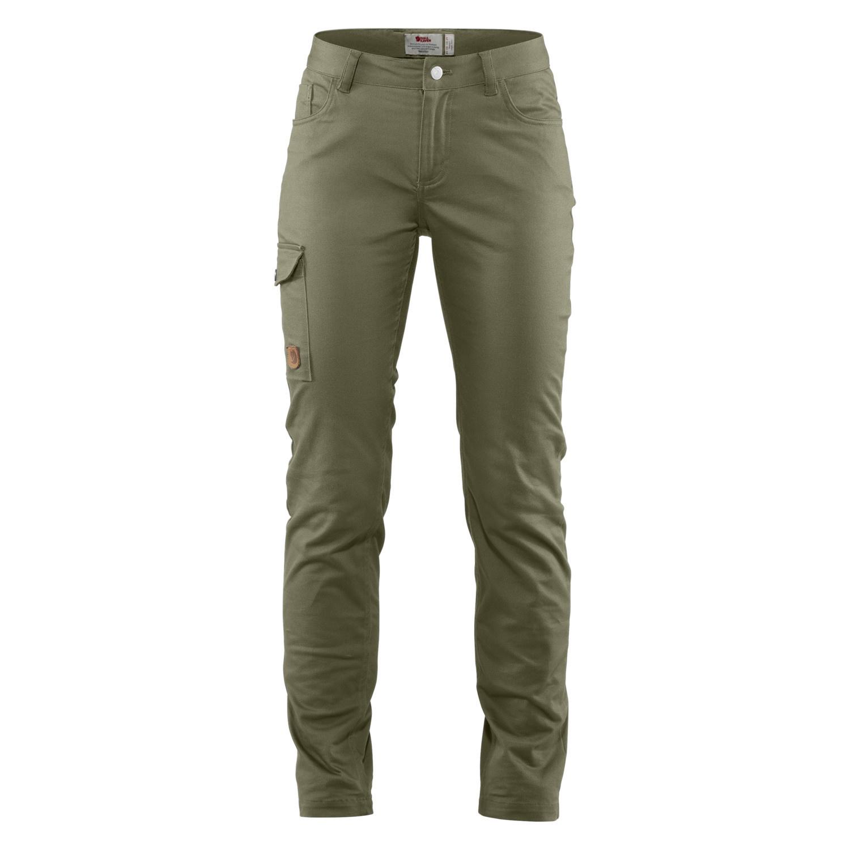 Fjällräven Greenland Stretch Trousers W Laurel Green-1