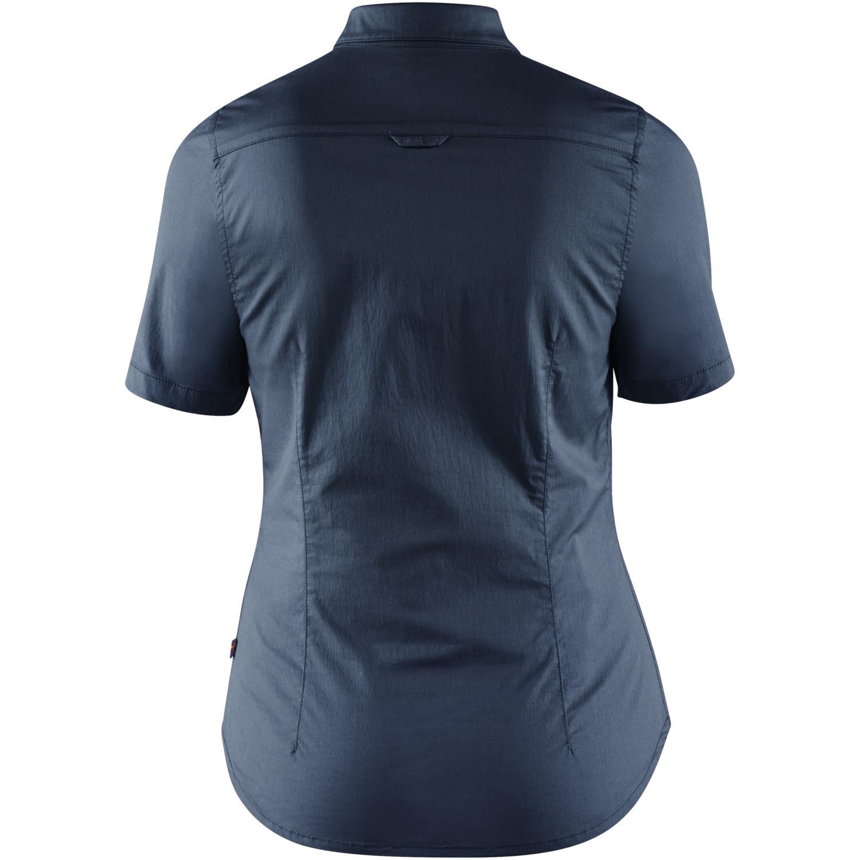 Fjällräven High Coast Stretch Shirt SS W Navy-2
