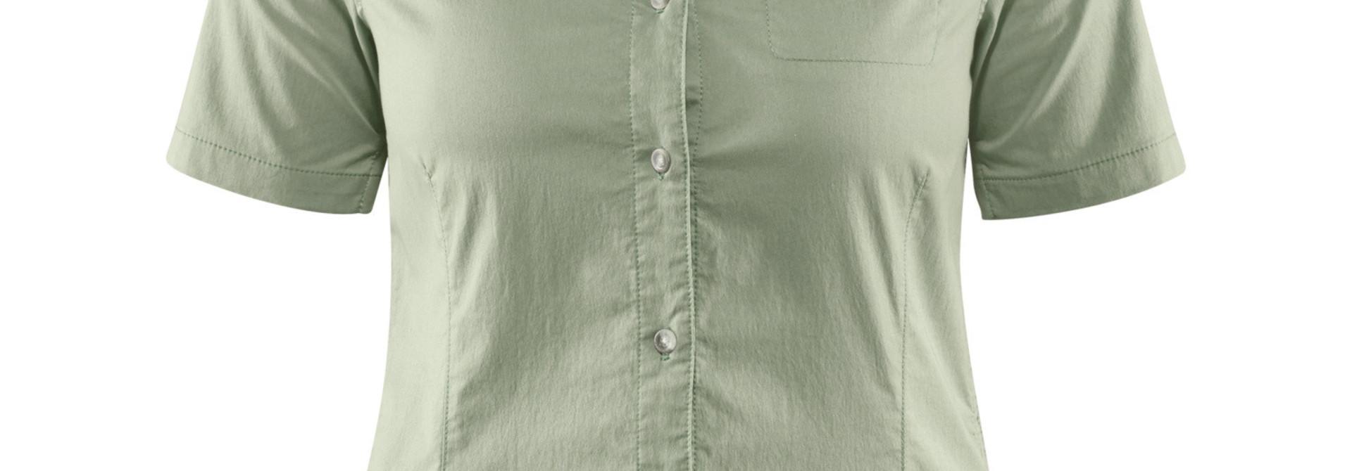 Fjällräven High Coast Stretch Shirt SS W Sage Green