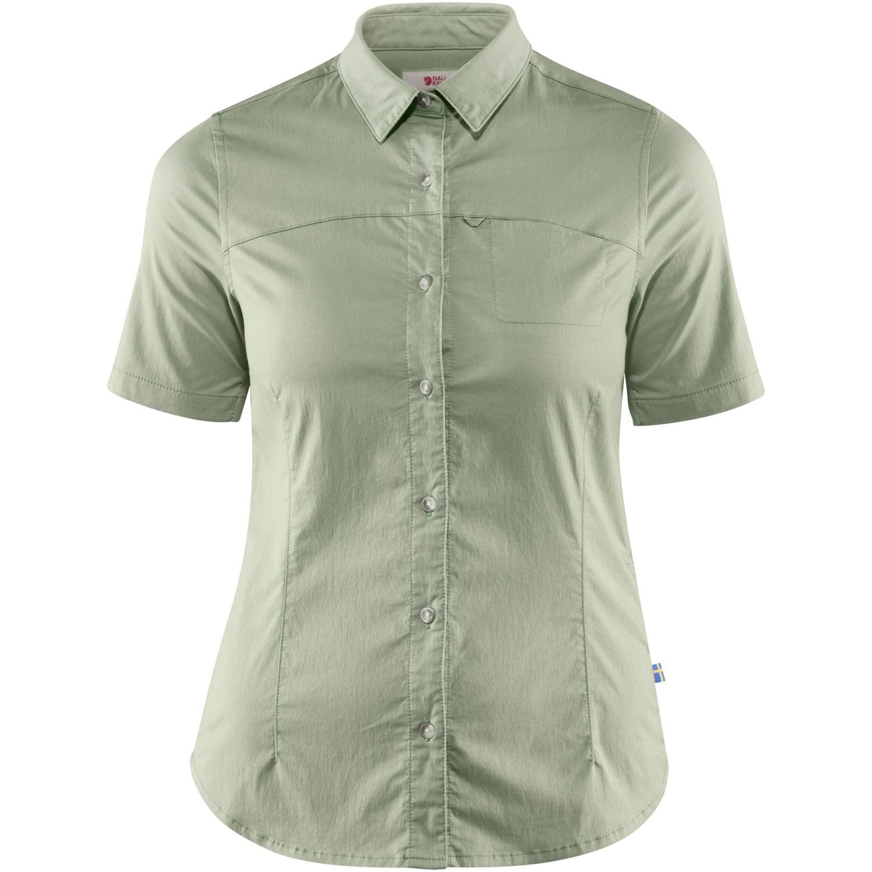 Fjällräven High Coast Stretch Shirt SS W Sage Green-1