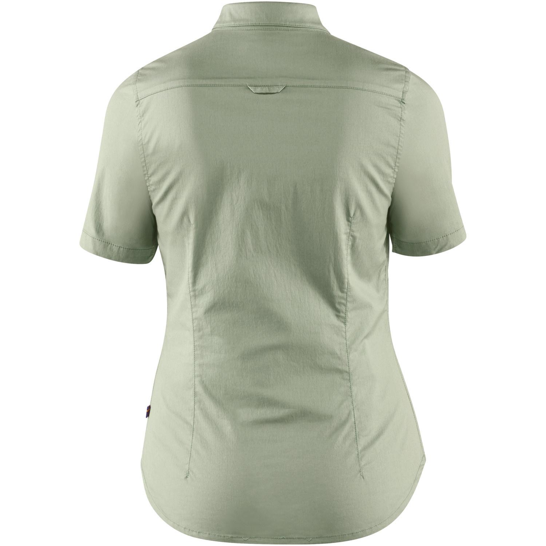 Fjällräven High Coast Stretch Shirt SS W Sage Green-2