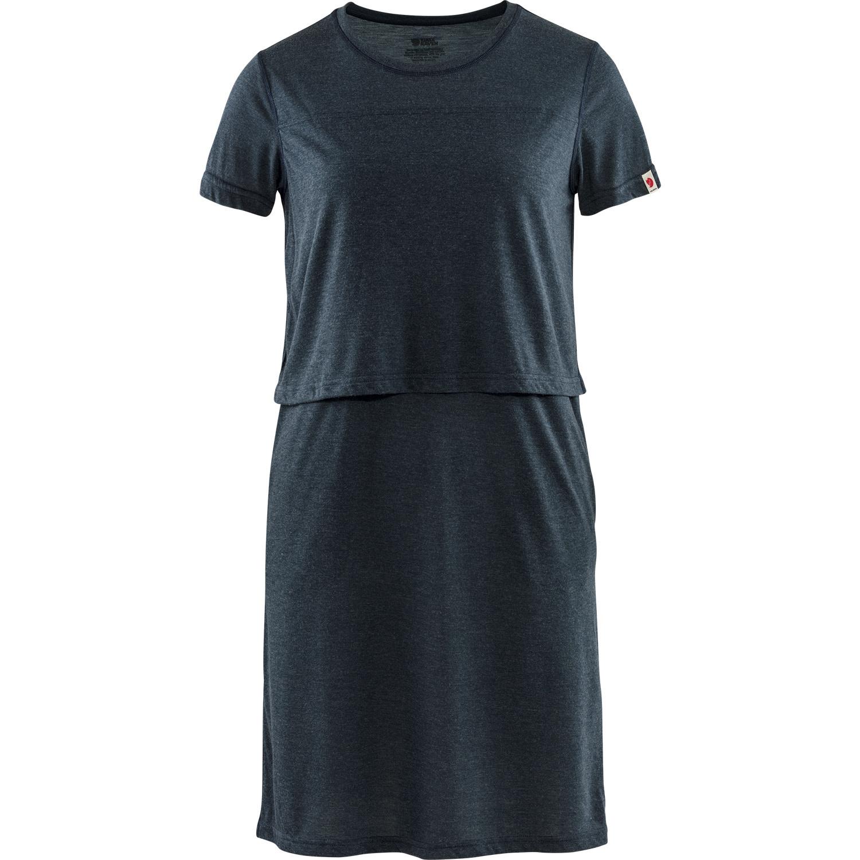 Fjällräven High Coast T-shirt Dress W Navy-1
