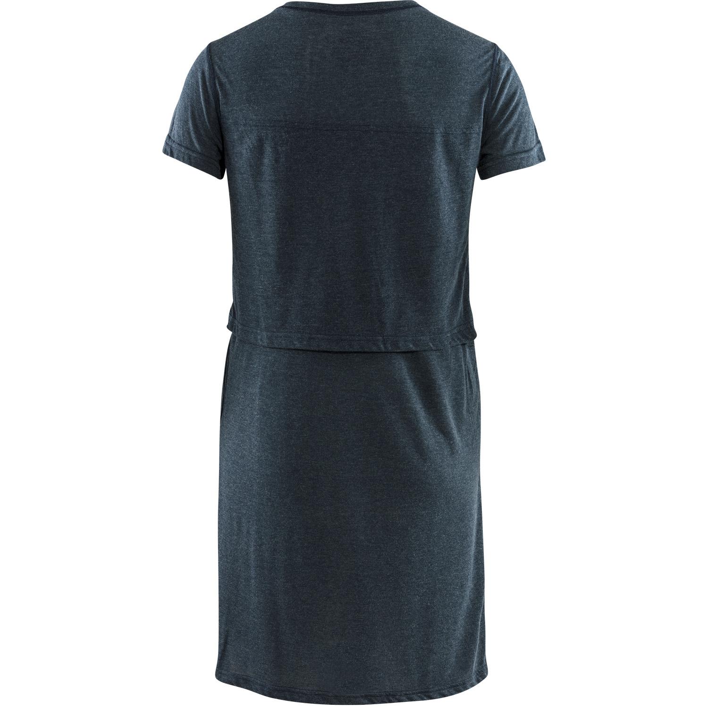 Fjällräven High Coast T-shirt Dress W Navy-2