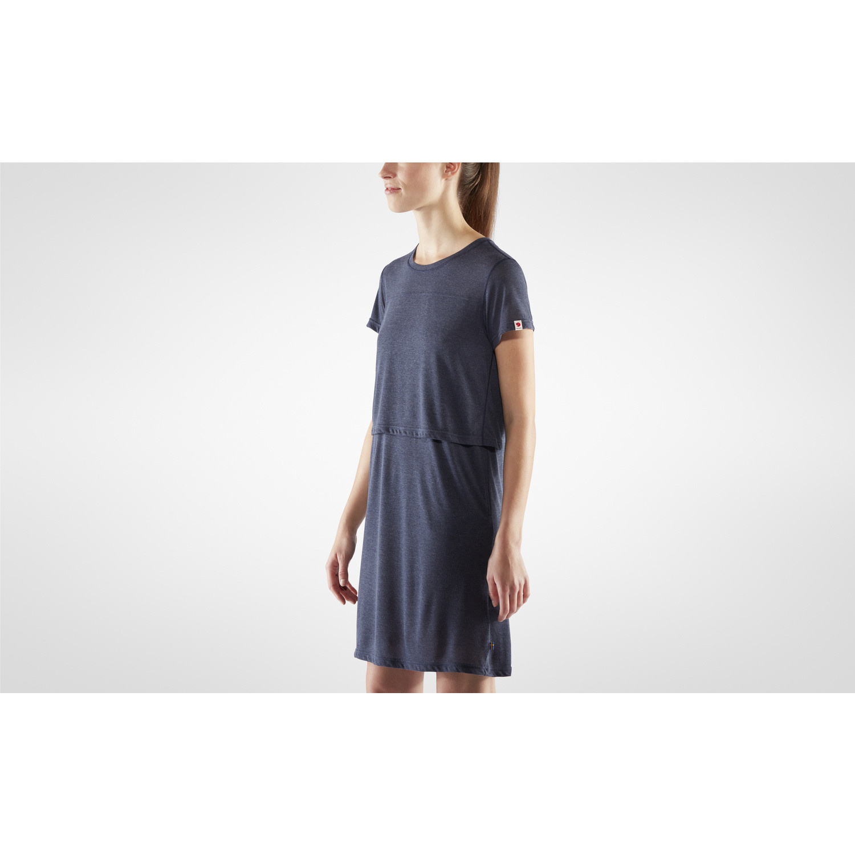 Fjällräven High Coast T-shirt Dress W Navy-4