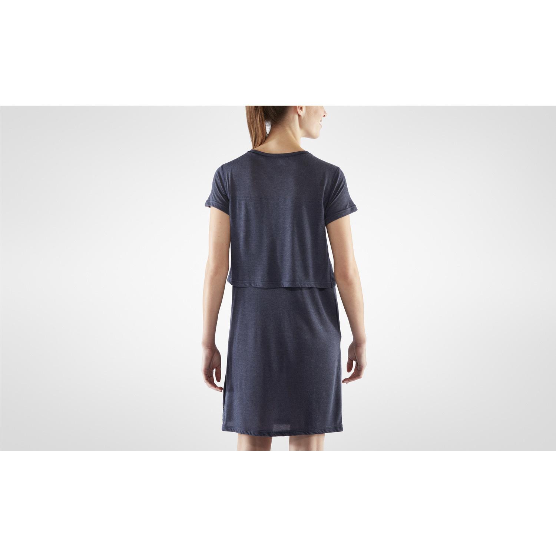 Fjällräven High Coast T-shirt Dress W Navy-5