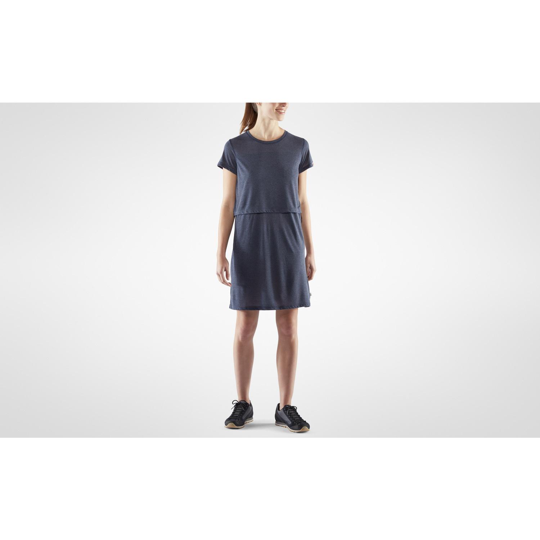 Fjällräven High Coast T-shirt Dress W Navy-6