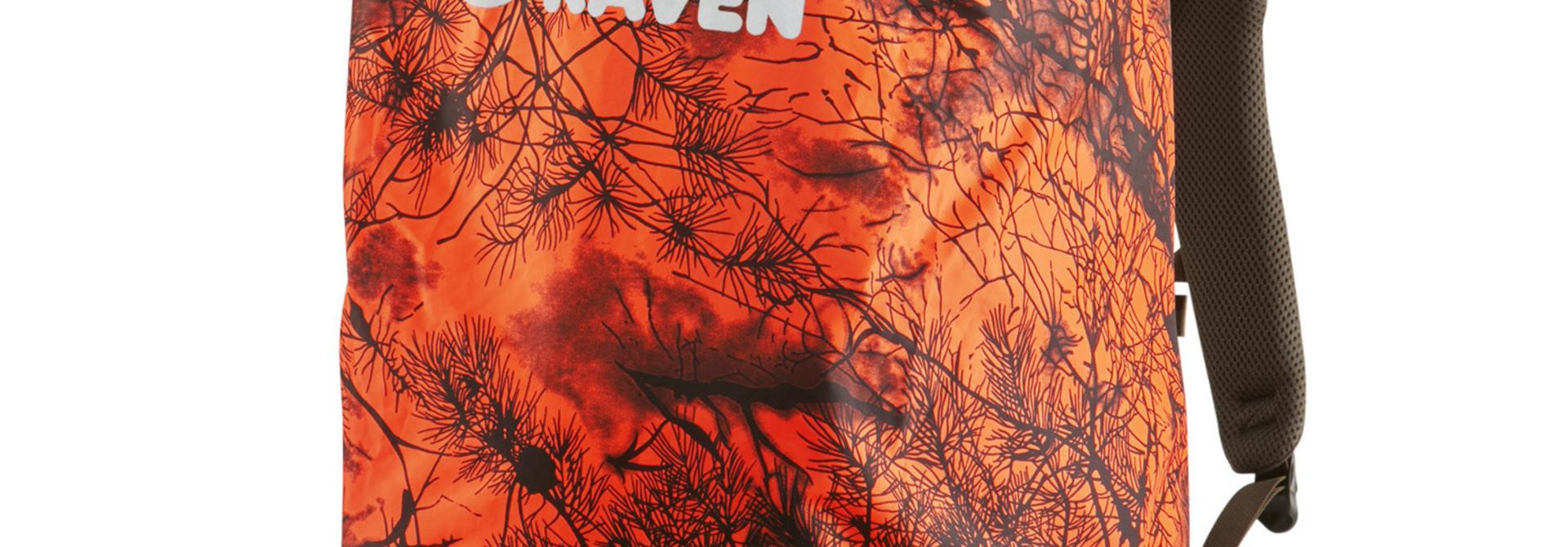 Fjällräven Hunting Rain Cover 16-28 Safety Orange