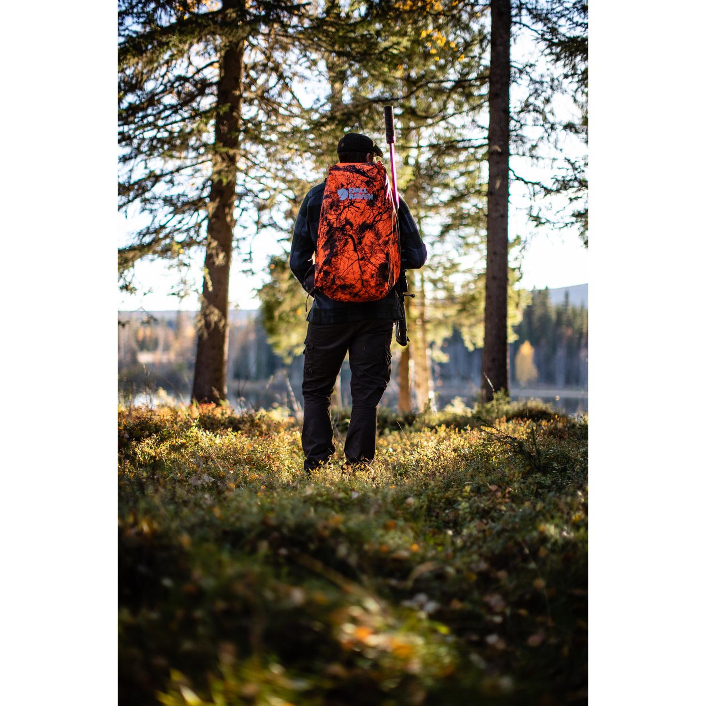 Fjällräven Hunting Rain Cover 16-28 Safety Orange-3