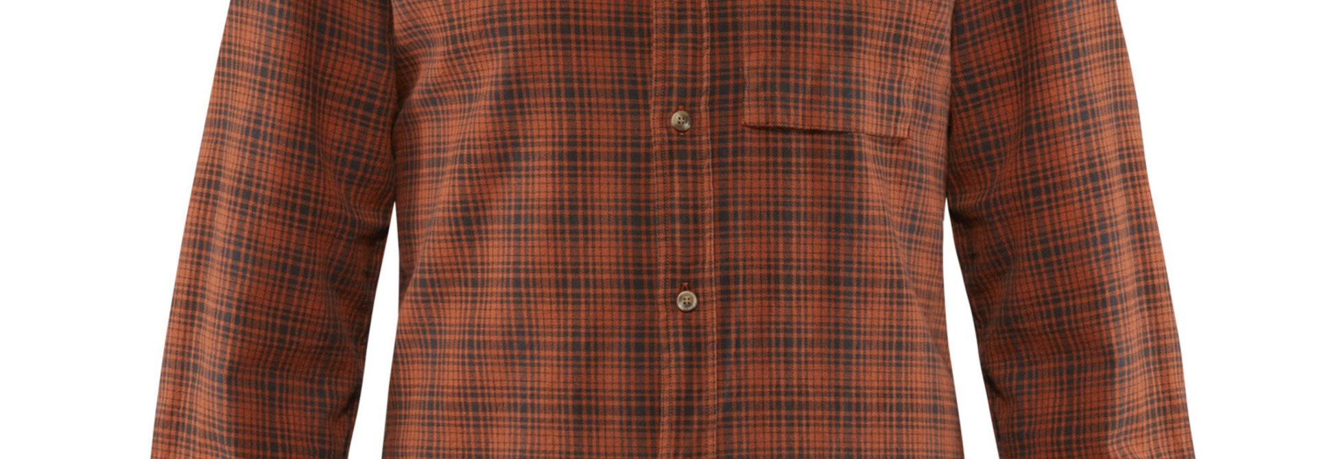 Fjällräven Kiruna Flannel Shirt M Autumn Leaf