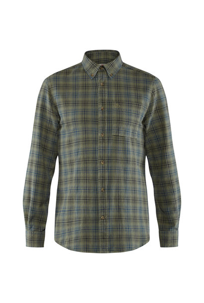 Fjällräven Kiruna Flannel Shirt M Green