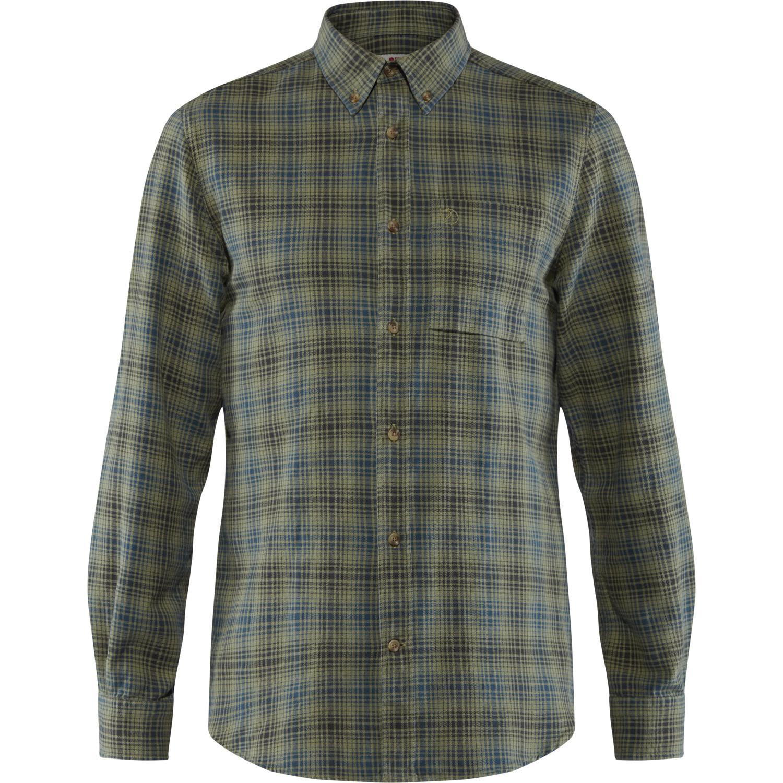 Fjällräven Kiruna Flannel Shirt M Green-1