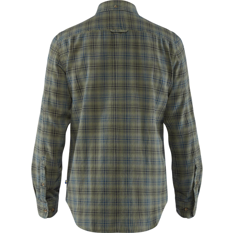 Fjällräven Kiruna Flannel Shirt M Green-2