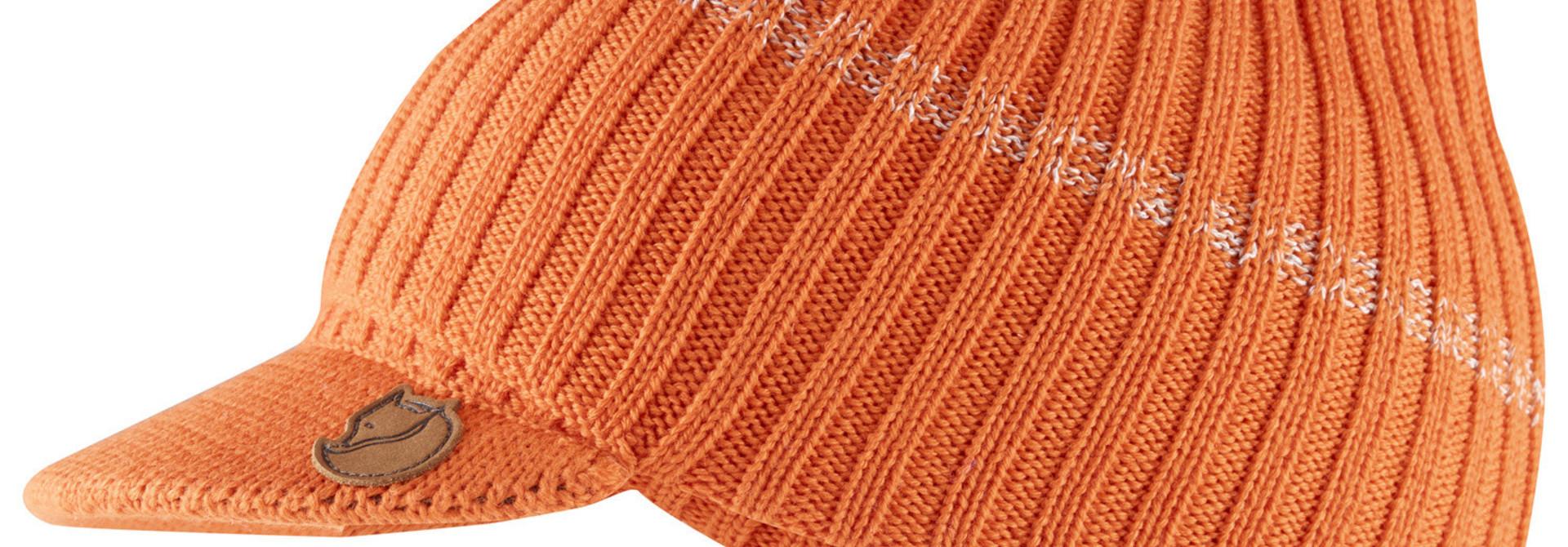 Fjällräven Lappland Balaclava Cap Burnt Orange