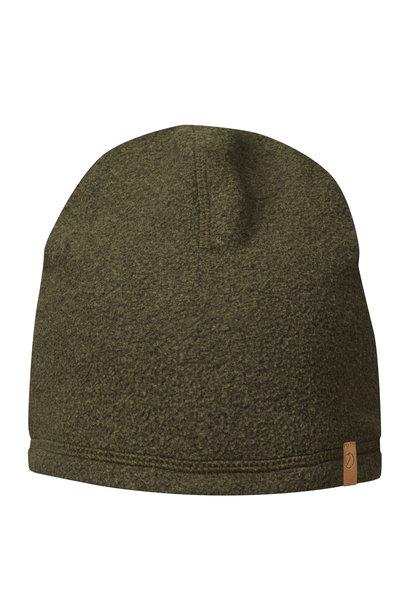 Fjällräven Lappland Fleece Hat Dark Olive