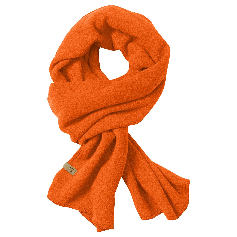 Fjällräven Lappland Fleece Scarf Safety Orange-1
