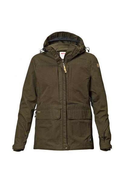 Fjällräven Lappland Hybrid Jacket W Dark Olive