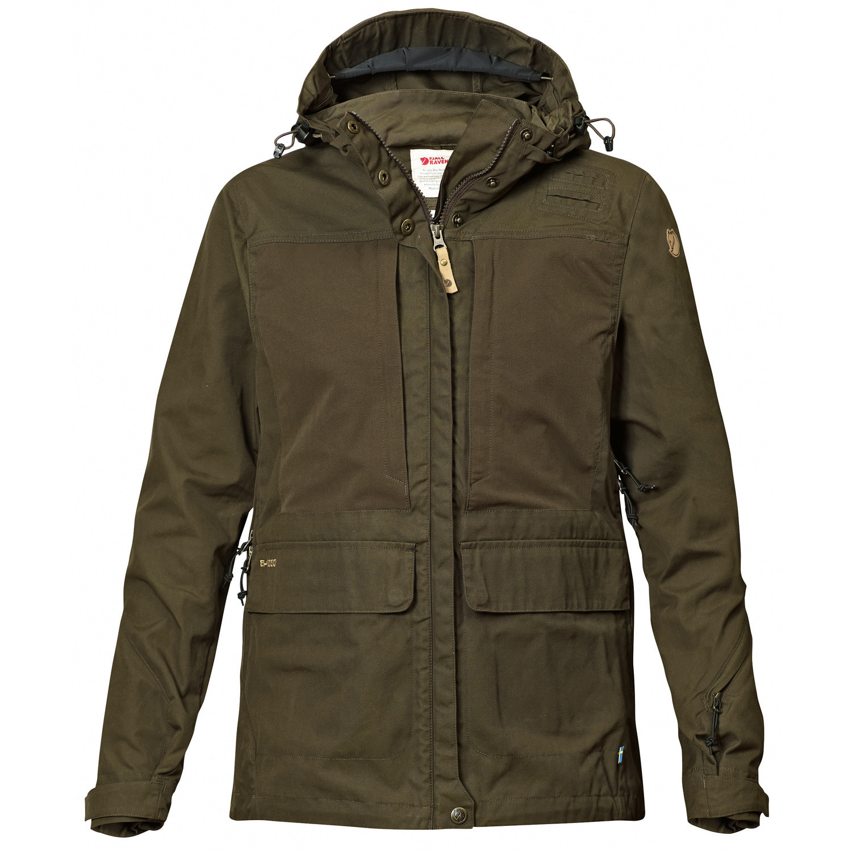 Fjällräven Lappland Hybrid Jacket W Dark Olive-1