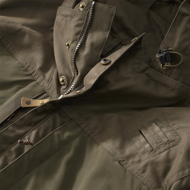 Fjällräven Lappland Hybrid Jacket W Dark Olive-3