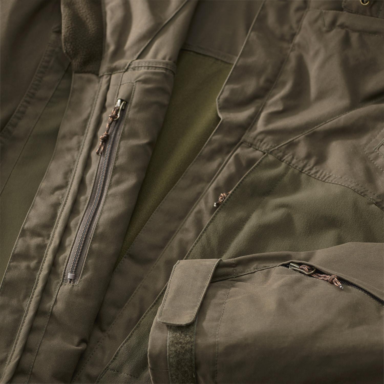 Fjällräven Lappland Hybrid Jacket W Dark Olive-4
