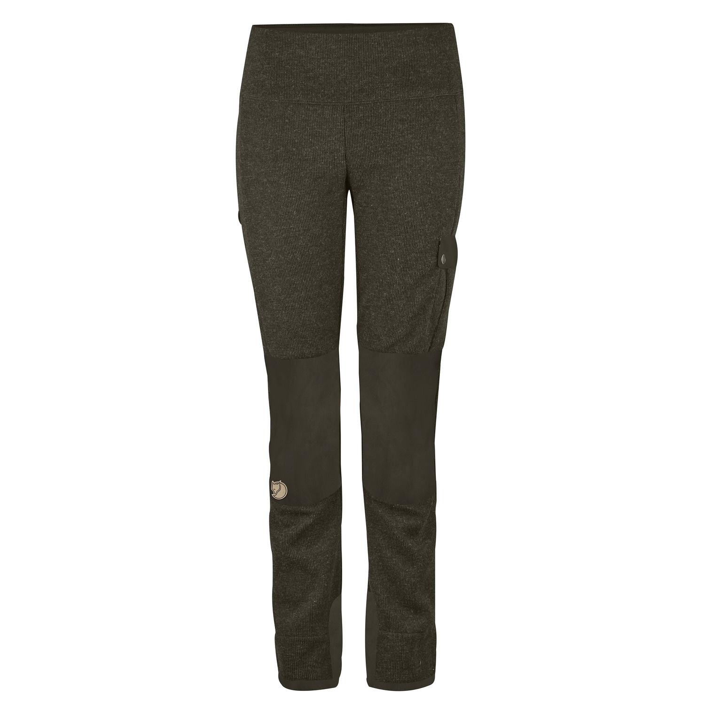 Fjälllräven Lappland Pyrsch Trousers W Dark Olive-1
