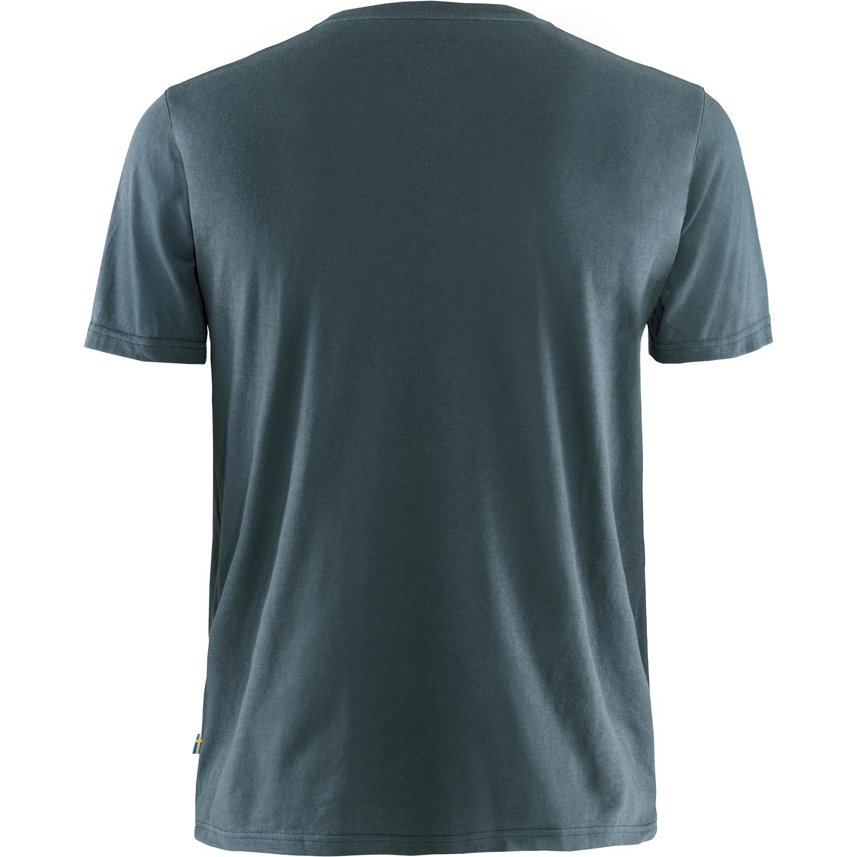 Fjällräven Logo T-shirt M Navy-2