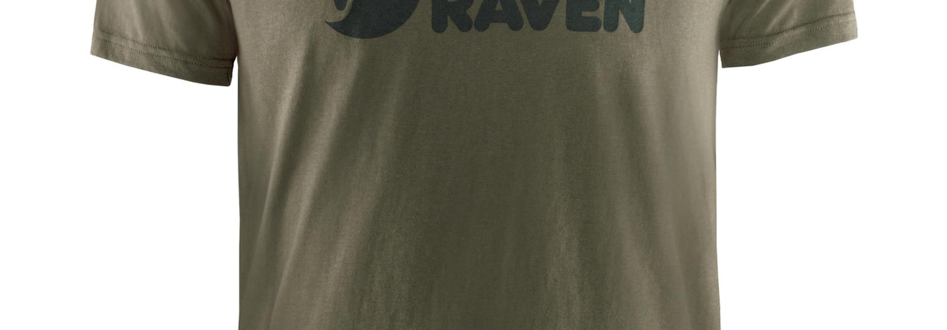 Fjällräven Logo T-shirt M Dark Olive