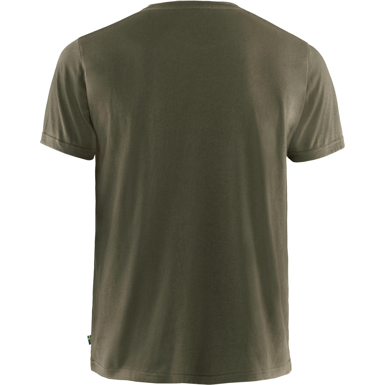 Fjällräven Logo T-shirt M Dark Olive-2