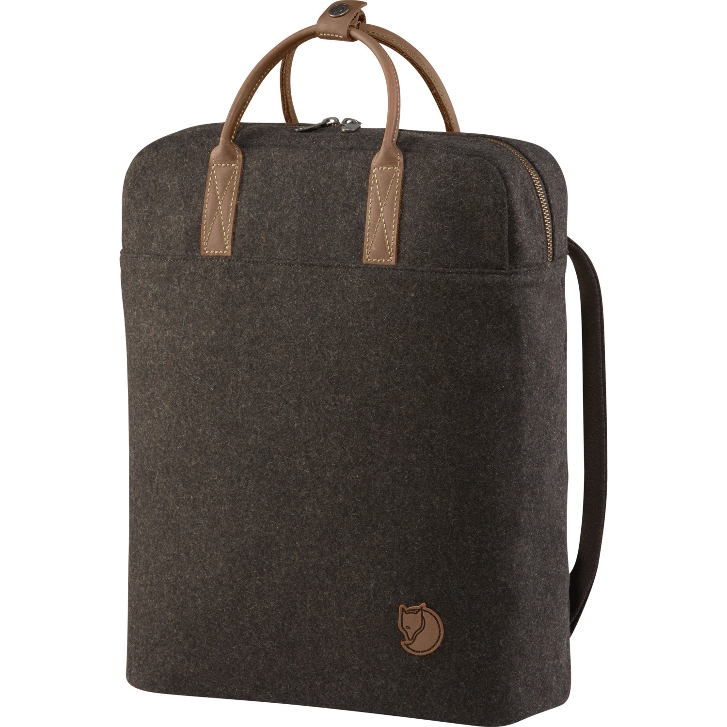 Fjällräven Norrvåge Briefpack Brown-1