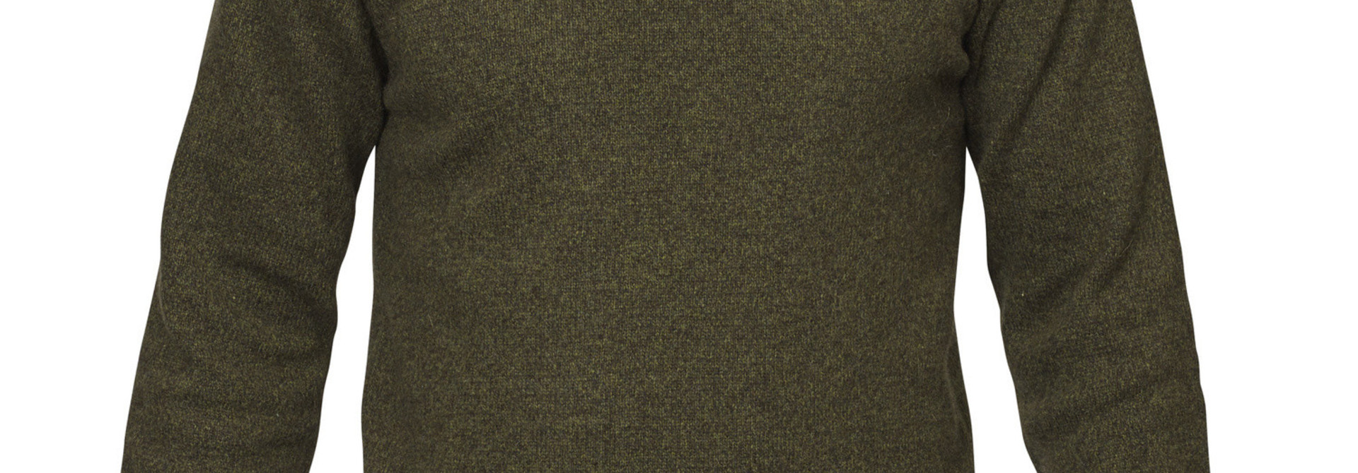 Fjällräven Övik Re Wool Sweater M Dark Olive