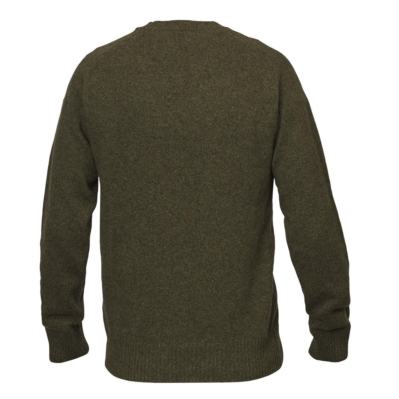 Fjällräven Övik Re Wool Sweater M Dark Olive-2