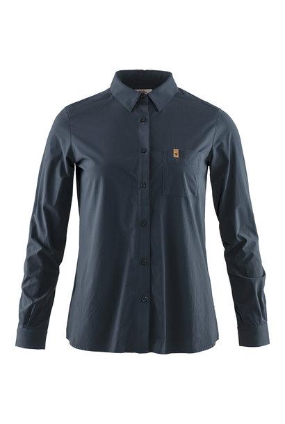 Fjällräven Övik Lite Shirt LS W Navy