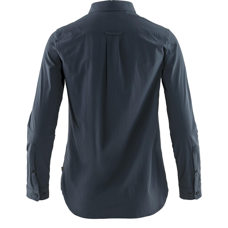 Fjällräven Övik Lite Shirt LS W Navy-2