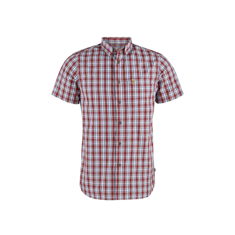 Fjällräven Övik Shirt SS M Deep Red-1
