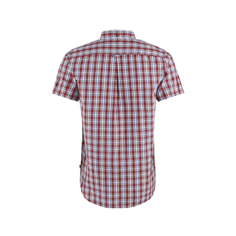 Fjällräven Övik Shirt SS M Deep Red-2