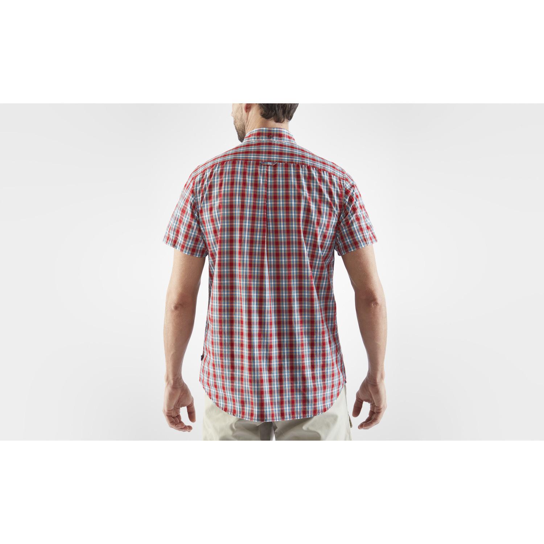 Fjällräven Övik Shirt SS M Deep Red-4