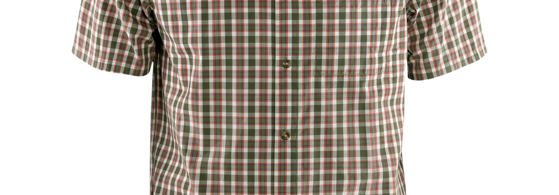 Fjällräven Övik Shirt SS M Laurel Green