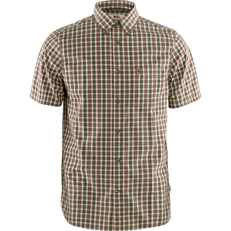 Fjällräven Övik Shirt SS M Laurel Green-1