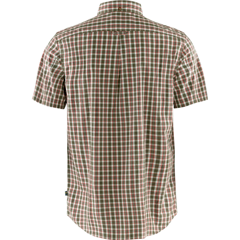 Fjällräven Övik Shirt SS M Laurel Green-2