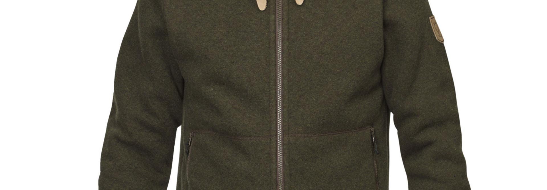 Fjällräven Polar Fleece Jacket M Dark Olive