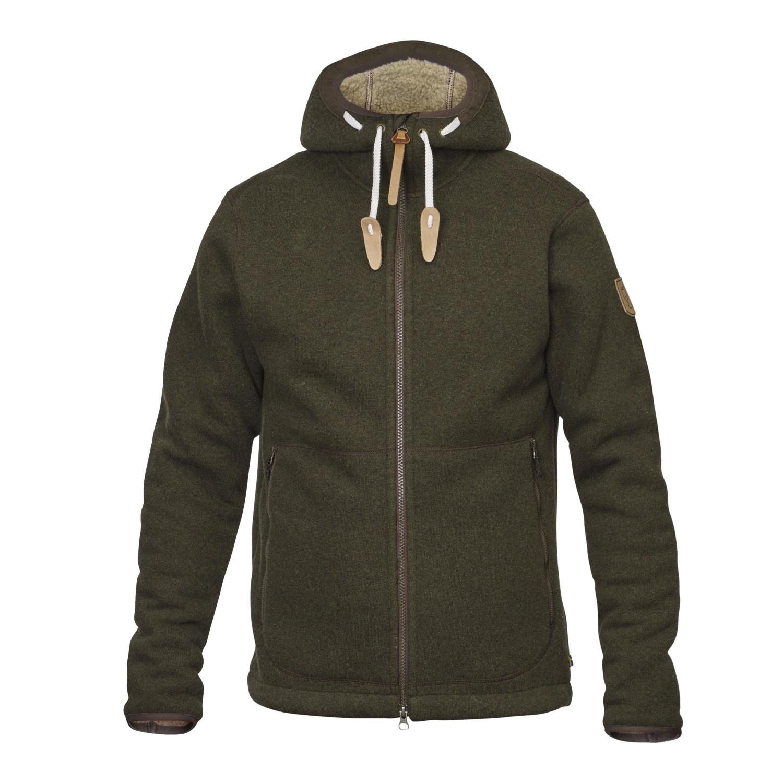 Fjällräven Polar Fleece Jacket M Dark Olive-1