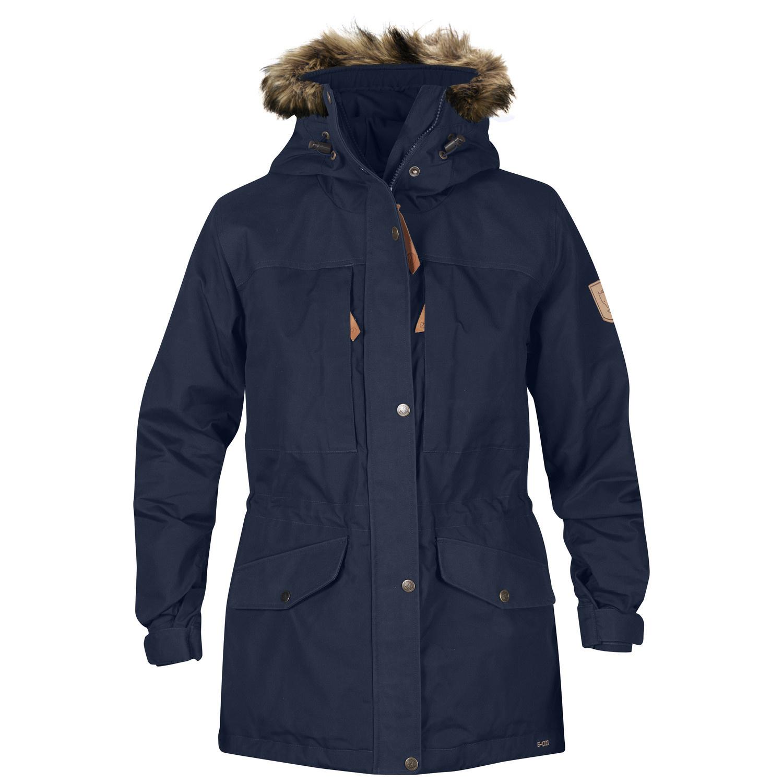 Fjällräven Singi Winter Jacket W Dark Navy-1
