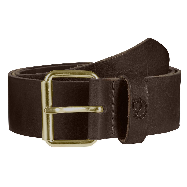 Fjällräven Singi Belt 4 cm Leather Brown-1