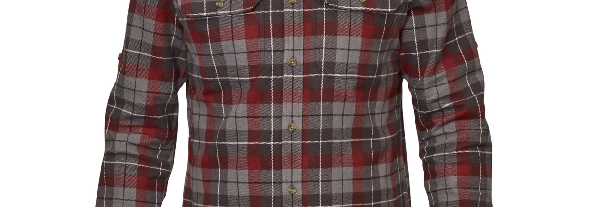 Fjällräven Singi Heavy Flannel Shirt M Dark Grey