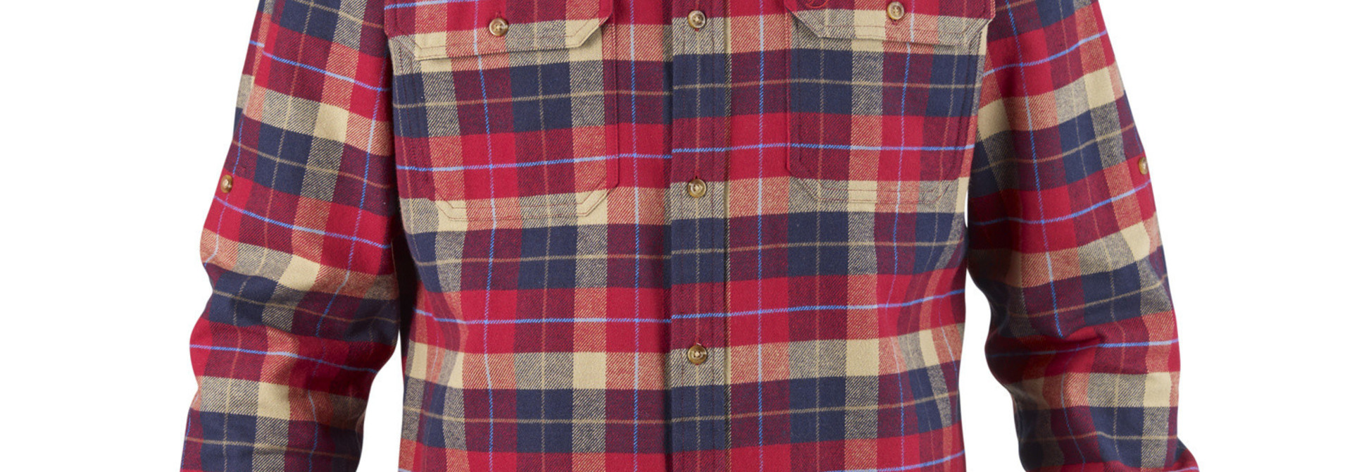 Fjällräven Singi Heavy Flannel Shirt M Deep Red