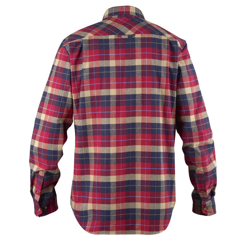 Fjällräven Singi Heavy Flannel Shirt M Deep Red-2