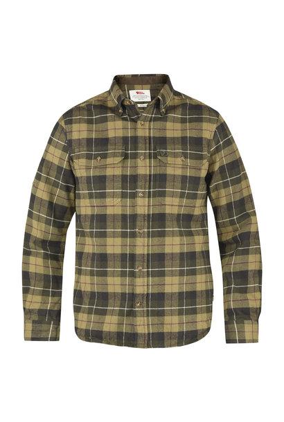 Fjällräven Singi Heavy Flannel Shirt M Green